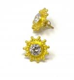 DG Diamond Post Earrings