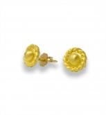 Roman Twist Post Earrings