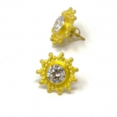 DG Diamond Post Earrings