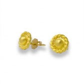 Roman Twist Post Earrings
