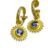 DG Blue Sapphire Dangles