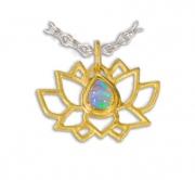 Lotus Symbol Pendant