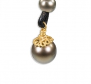 Celtic Filigree Pearl Cap #1