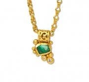 22k  Medieval Medley Emerald #2