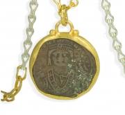 22k Byzantine Coin Pendant #2