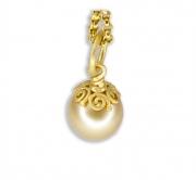 Swirl Design Pearl Cap #2