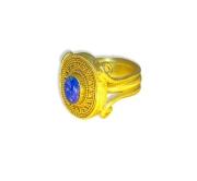 Lapis Lazuli Pythagoras Ring