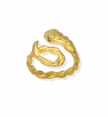 Thick Snake Adjustable Ring