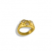 Signet Ring C with Stones