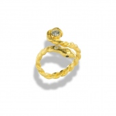 Adjustable Snake Wrap Ring A